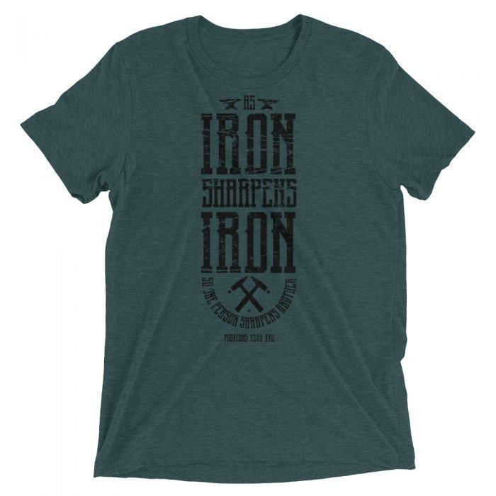 Sharp Iron - Proverbs 27:17 - Sharp Iron